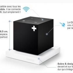 Cube S via votre wifi disponible chez TNTHD59 Bousbecque